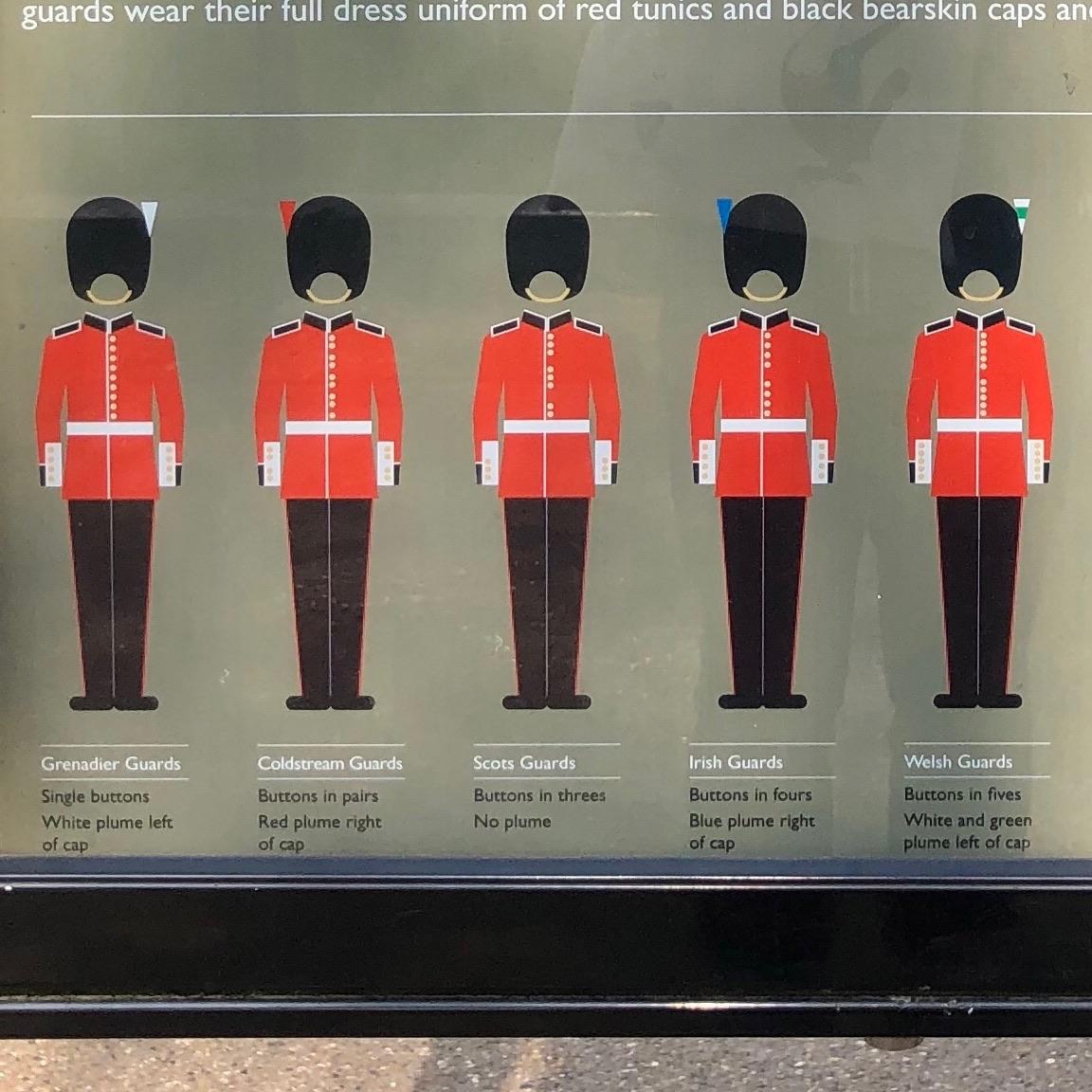 衛兵さんは5種類ある! みゅうロンドンブログ|オプショナルツアー ...