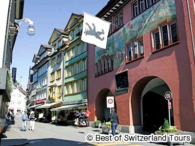 伝統的なスイスの村 アッペンツェル1日観光 チューリッヒオプショナルツアー 詳細ページ